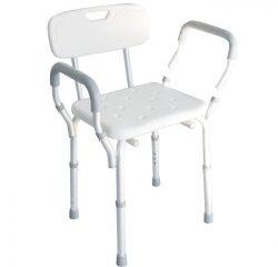 Sedile doccia con schienale e braccioli AB21
